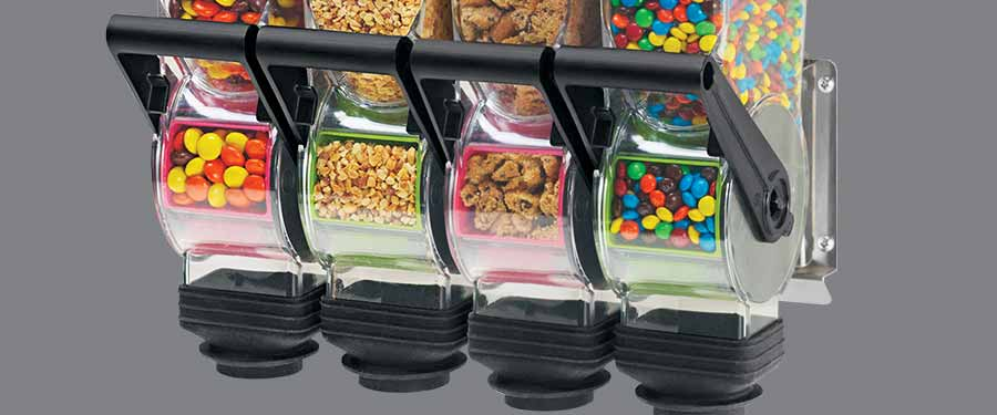 Server Products Dry Food Dispensers