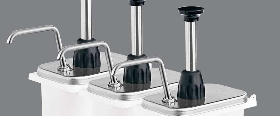 Food Pumps & Dispensers: Fountain Jars