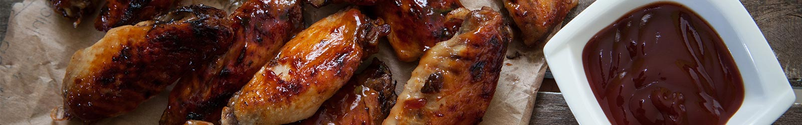 Barbecue wings