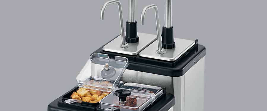 Server Products Food Topping Stations