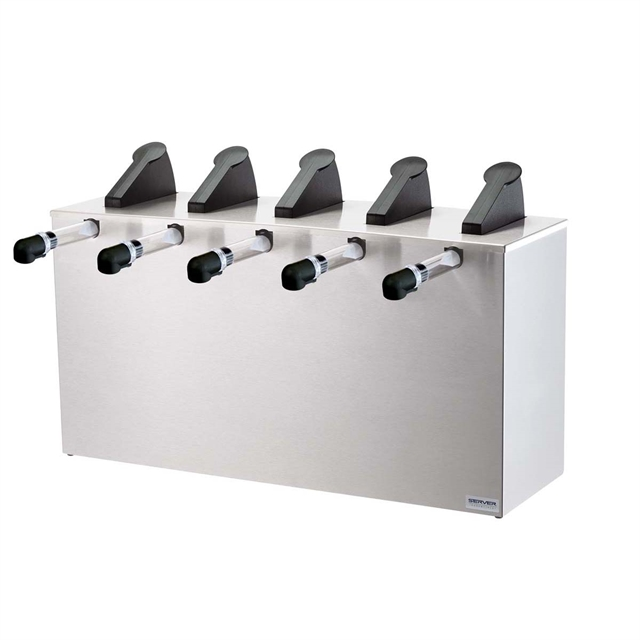 Server Express Rail (5) Pouched Product Pumps
