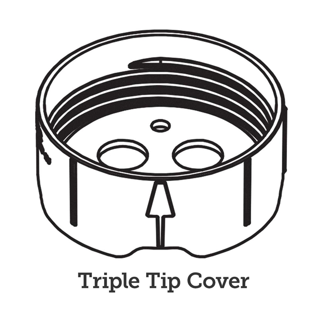 100101 Cover, Triple-Tip - Line