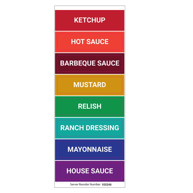 Flavor Label Set of 8 | 100246