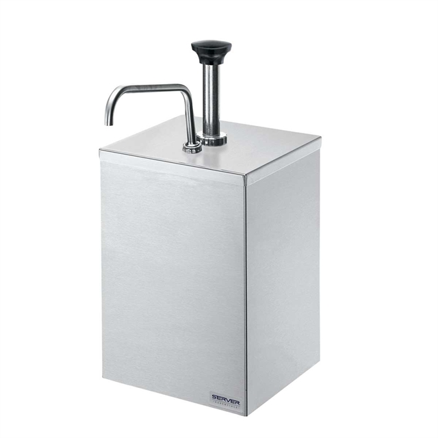 #10 Can Pumps In Stand Stainless Steel