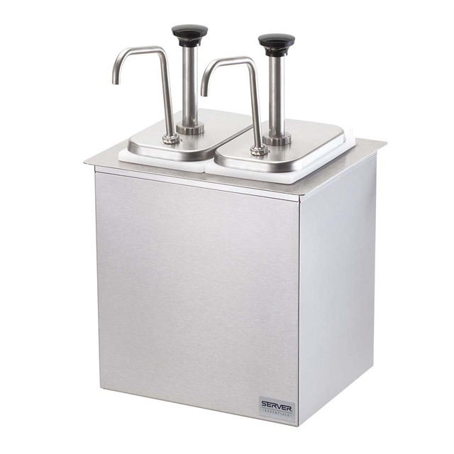 Drop-In Bar Combo (2) Stainless Steel Pumps