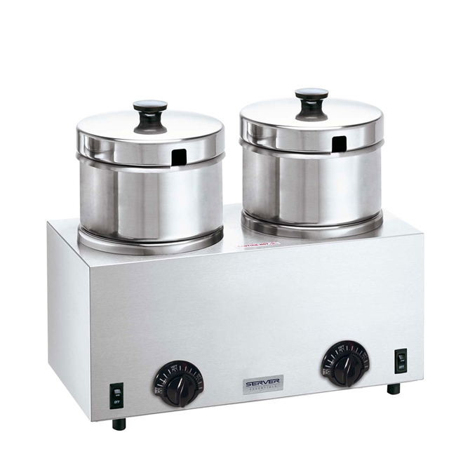 Twin Soup Warmer 5 qt insets