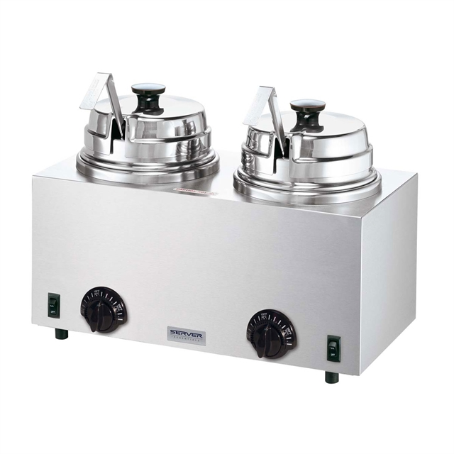 Twin Server with Ladles