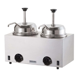 Twin Warmer with Pumps | 230V EURO