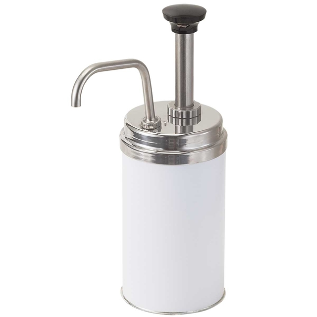 Stainless Steel #5 Can Condiment Pump