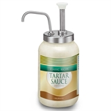 Gallon Jar Pump 110 mm - Stainless Steel