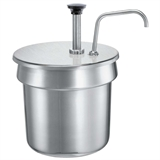 11 Qt Inset Pump - Stainless Steel