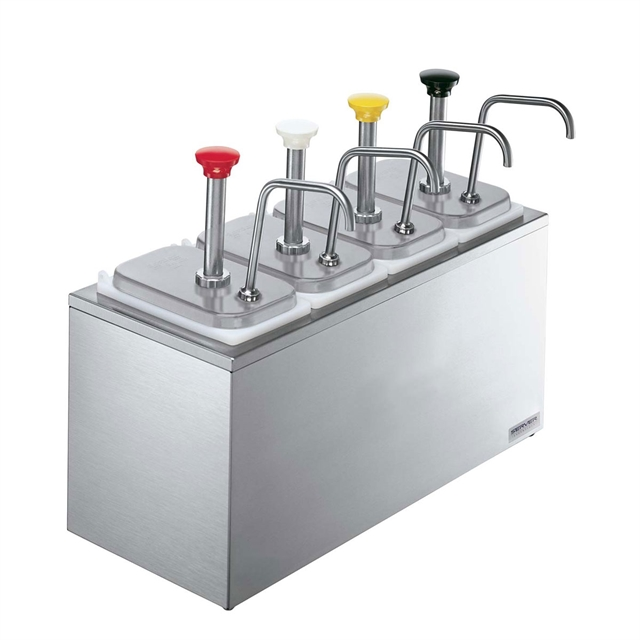 Bar Combo (4) Stainless Steel Pumps