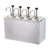 Drop-In Bar Combo (4) Stainless Steel Pumps