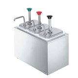 Bar Combo (3) Stainless Steel Pumps