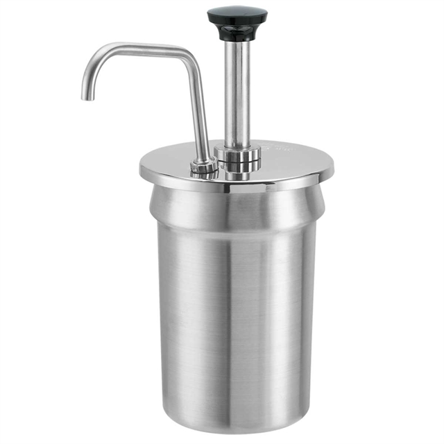 2 1/2 Qt Inset Pump - Stainless Steel