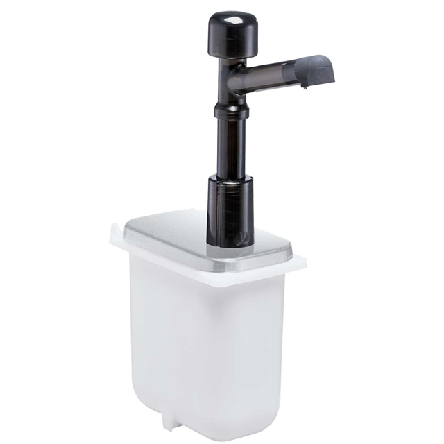 Solution Pump for Shallow Fountain Jar