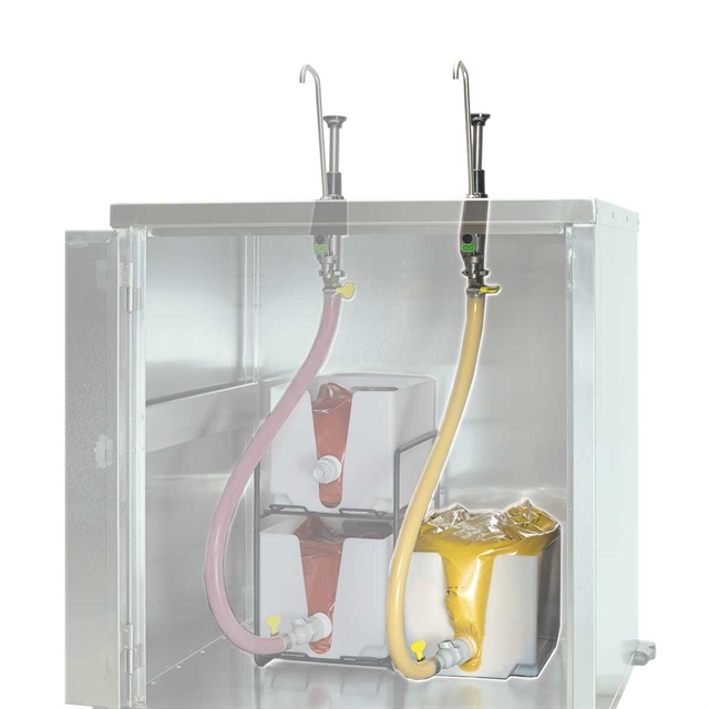 Single Pouch Remote Dispensing System