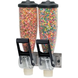 Dry Food and Candy Dispenser | Twin 2 L