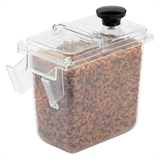 1/9-Size Wall-Mount Jar Clear