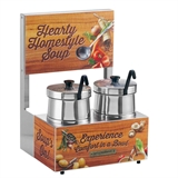 Twin Soup Station 5 qt Insets