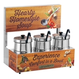 Triple Soup Warmers 5 qt