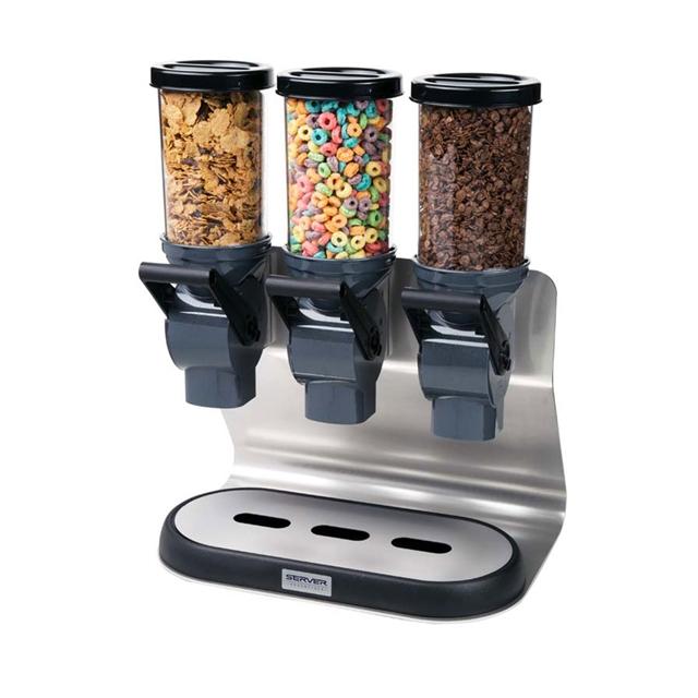 Cerealserv Dry Cereal Dispenser Triple 1 5l Server Products