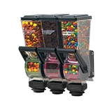 SlimLine Dry Food and Candy Dispenser | Triple 1.4 L