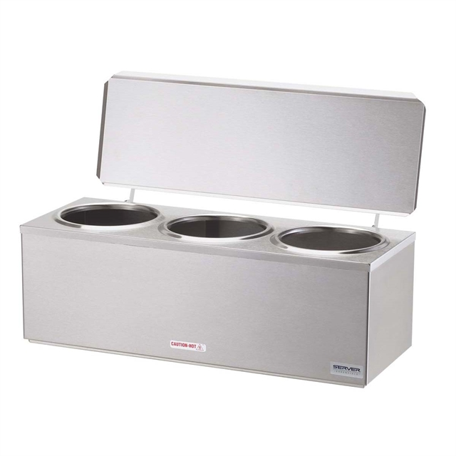 Triple Cone Dip Warmer UK