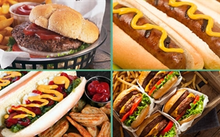 Build a crowd-pleasing Brat & Burger Station