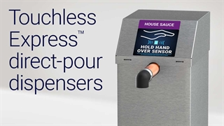 Cleaning a Direct-Pour Touchless Express Dispenser