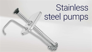 How to assemble a Server Products stainless steel pump.