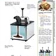 Dessert Topping Warmers/Merchandisers, 230V | Spec Sheet 02012